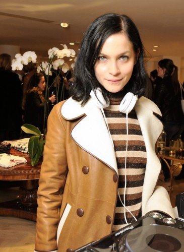 Leigh Lezark wearing Hilfiger Collection