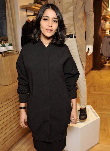 Leila Bekhti wearing Tommy Hilfiger
