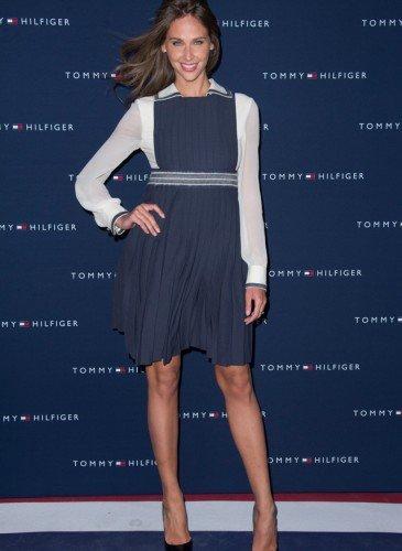 Ophelie Meunier wearing Hilfiger Collection