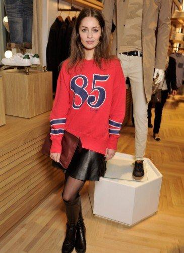 Marie-Ange Casta wearing Tommy Hilfiger
