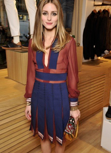 Olivia Palermo wearing Hilfiger Collection