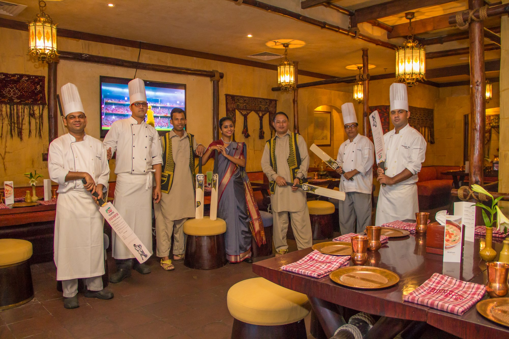 Bukhara At Kempinski Hotel Ajman Shows Live IPL Cricket