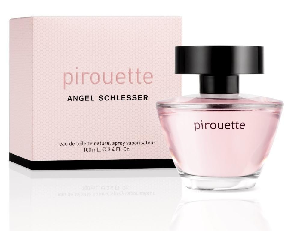 Angel Schlesser's New Signature Fragrance For Women: Pirouette