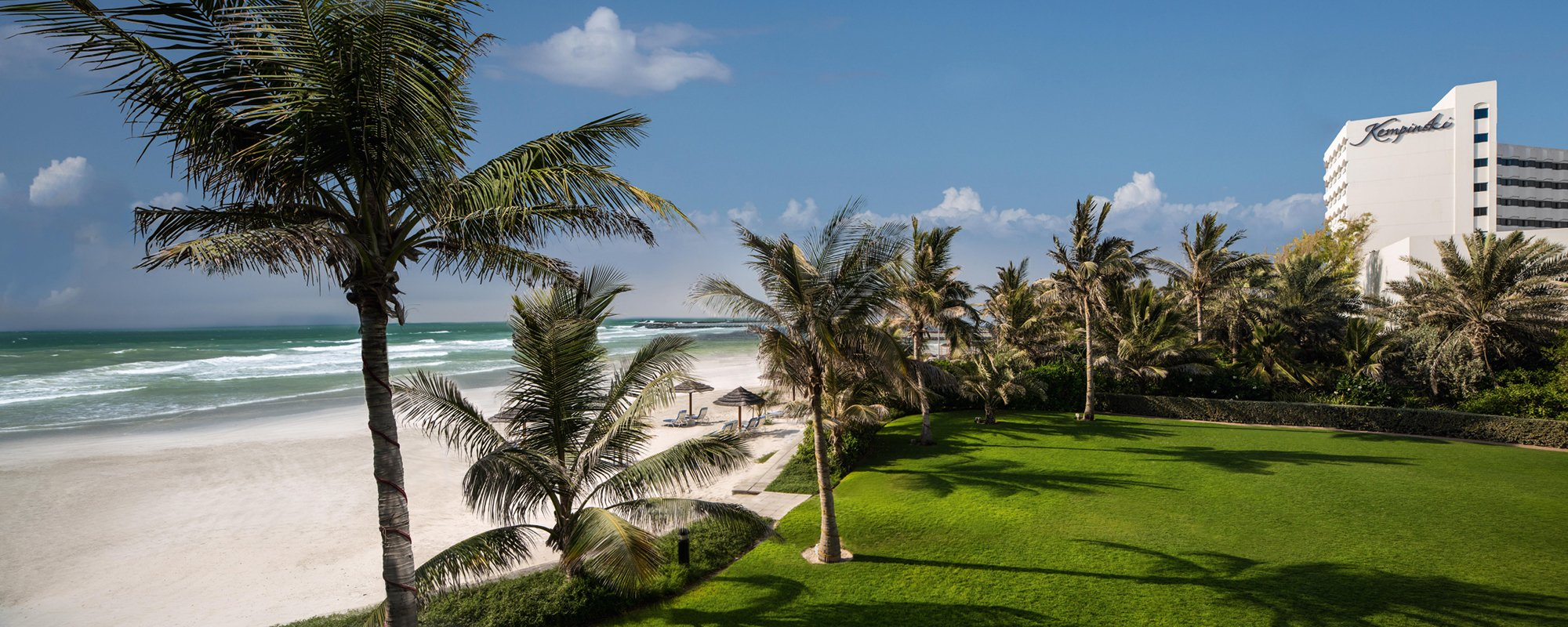 Escape To The Turquoise Waters And White Sands Of Kempinski Ajman