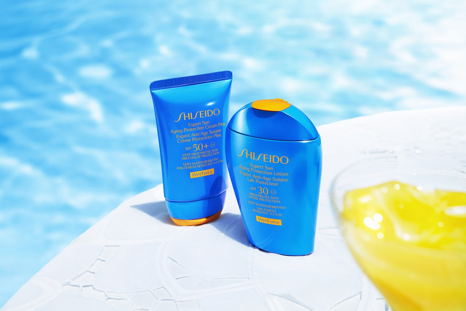 Shiseido WetForce Technology Brings World First To Sun Care Products