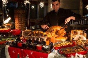 Ballaro - festive turkey station
