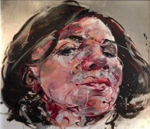 Philippe PASQUA Alima_ Oil on canvas_  240x210 cm  2008