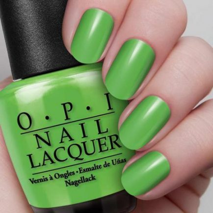 OPI - KSA National Day - Green Which Village - AED 49 (hand)