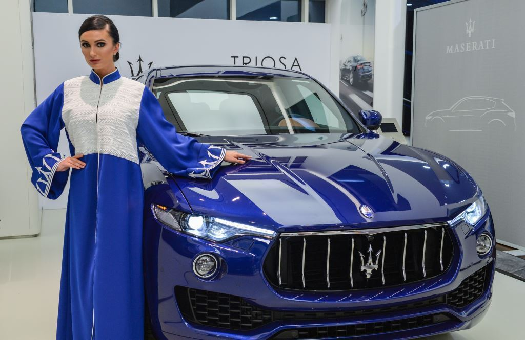 Premier Motors and Maserati Host 'Fashion Visits the Home of Style' Unique event showcased Abayas from Abu Dhabi-based label 'Triosa'