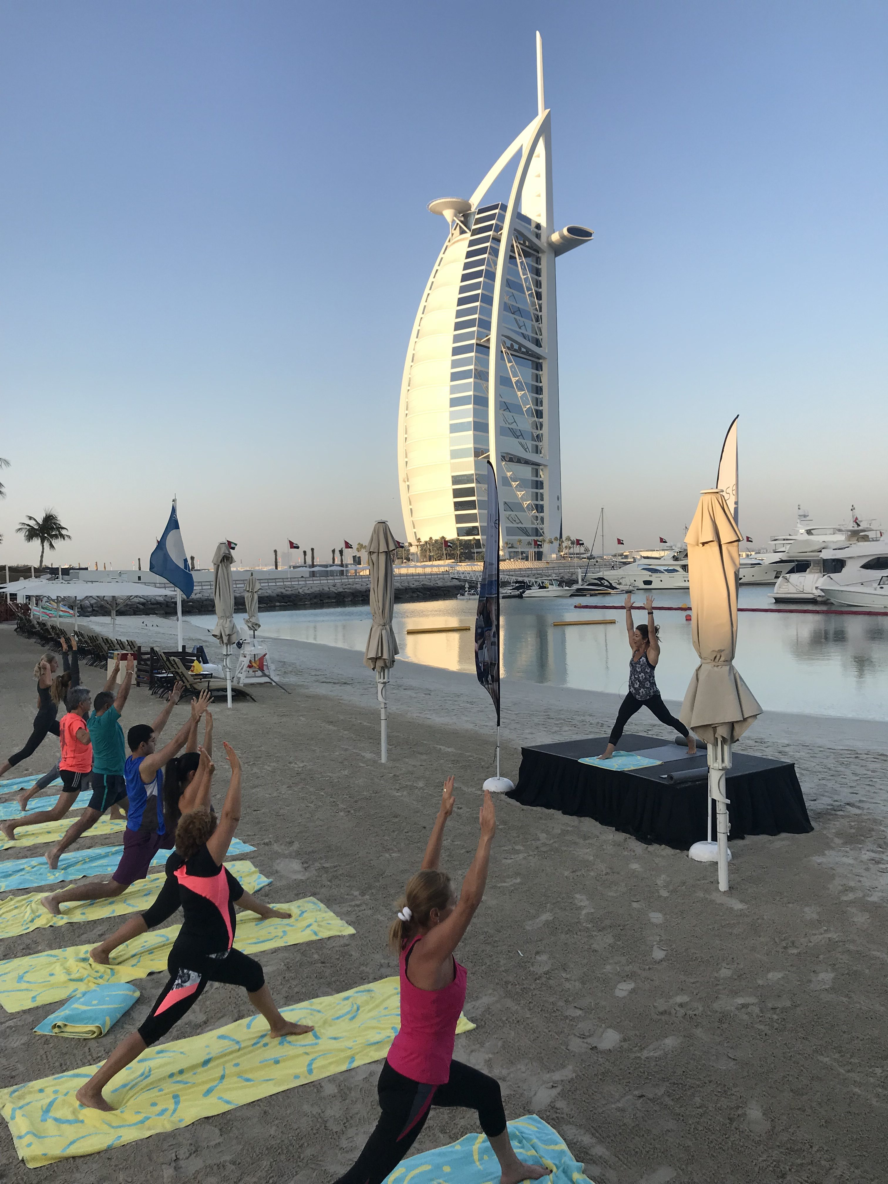 Start Your Day the Right Way with Talise Sunrise Yoga