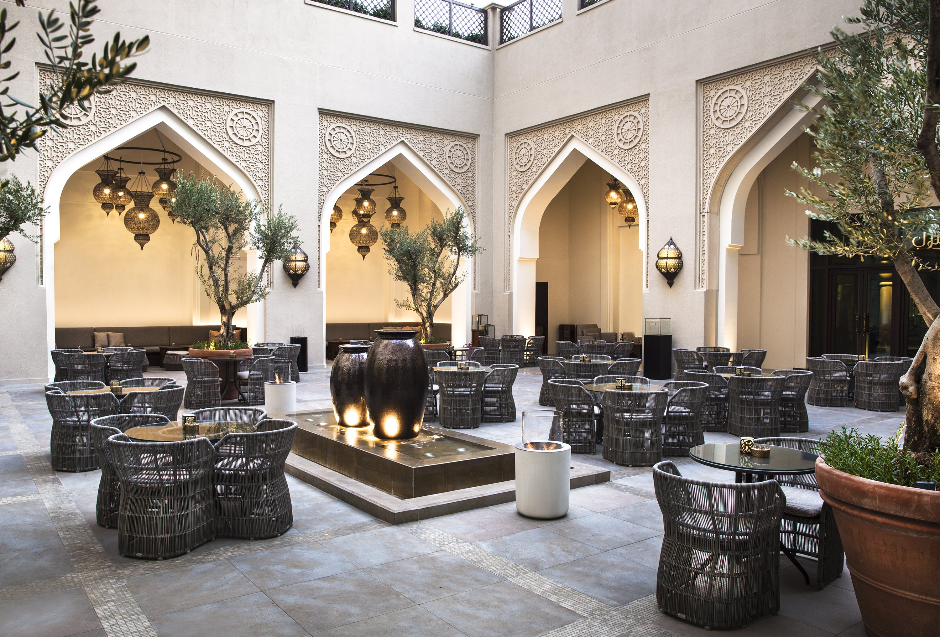 An Exotic Trip Into The Arabian Dining Experience At The Courtyard…