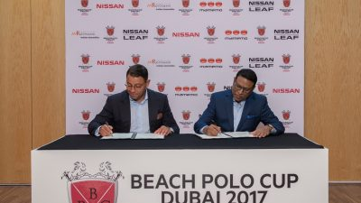 Beach Polo Cup Dubai Partners With Nissan For 2017 Tournament