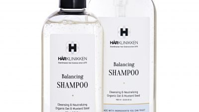 Harklinikken Launches New Balancing Shampoo: All-Natural Product Restores Natural pH Balance To The Scalp