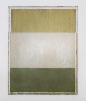 Jean-Pierre Pincemin – Untitled – Oil on canvas – 1983 – Courtesy of 18 Davies Street Gallery