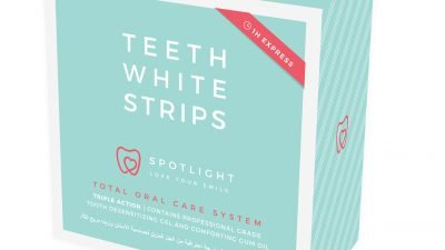 Love Your Smile With Spotlight Teeth White Strips