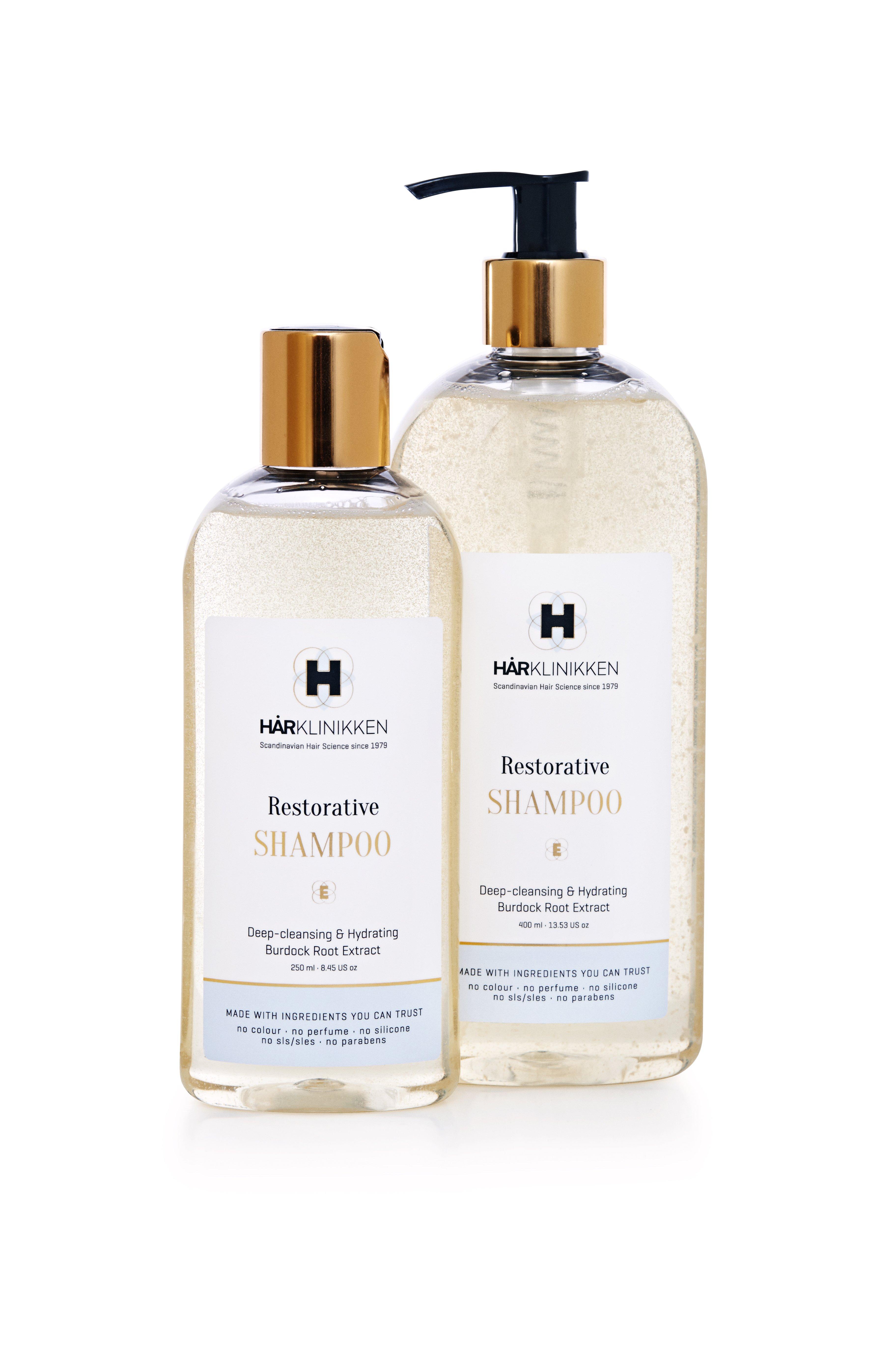 KM Tries Harklinikken Clinic's New Restorative Shampoo