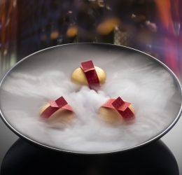 Hakkasan CNY 2019, @ Hakkasan Hanway Place = Fortune Macaron