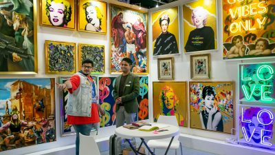 Street Art Moves Mainstream At World Art Dubai